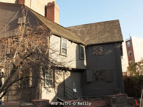 La casa de Pual Revere en el North End