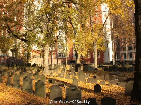 Granary Burying Ground sobre la calle Tremont