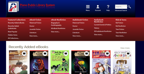 Miramos la lista de e-book y audiobooks disponible